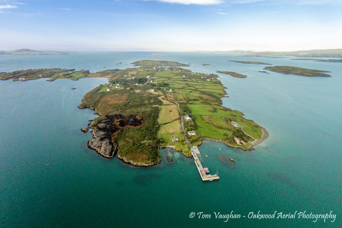 Schull West Cork Schull And The Mizen From Above Schull West Cork